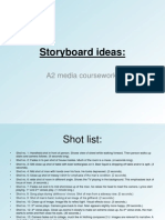 Storyboard Ideas