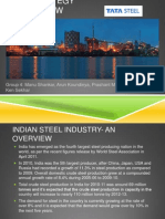 Strategy Review- Tata Steel