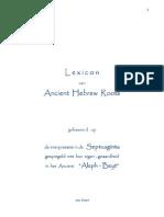 L e x i c o n Ancient-Hebrew Deel I