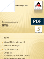 HUJAK - NoSQL - Mihovil Rister