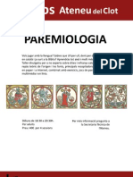 La Farinera Del Clot - Taller de Paremiologia catalana a Barcelona