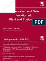 Importance of Safe Iso
