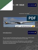 Jet Airways IR