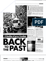 A Timeline of Press Freedom (PJRR September 2007)