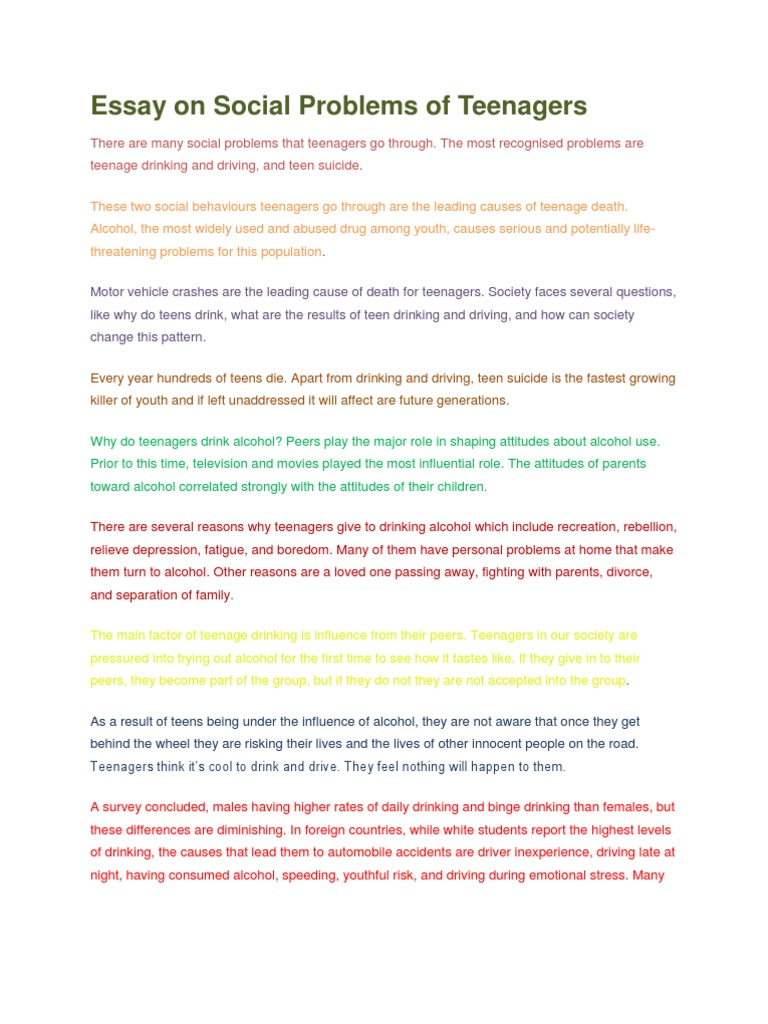 Essay social problems among youth write a judgement proof letter to creditor