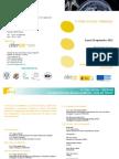 Programa IV Foro Social 2012 Cibersam
