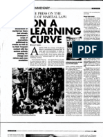 The Press on the Eve of Martial Law (PJRR September 2008)
