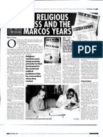 The Religious Press and the Marcos Years (PJRR September 2007)