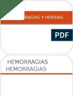 Tipos de Heridas Hemorragias