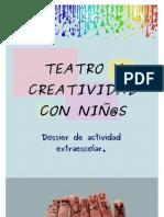 Dosier teatro y creatividad con niños