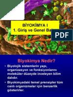 Biyokimya 1