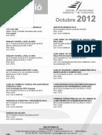 cursos octubre 2012