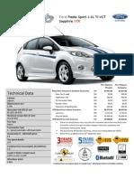 Ford Fiesta Sport 1.6L Ti-VCT Sapphire XTR_Pen Msia_Sept-12