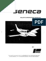 Piper Seneca - Pilot's Operating Manual