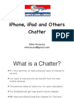 iPhone, iPad and Others Chatter 120920