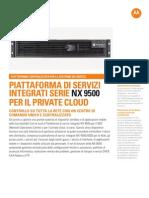 NX9500 Spec Sheet Italian