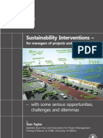Book Sustainability Interventions