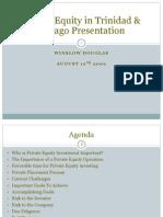 Private Equity Trinidad Presentation