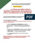 Pnl Blanda y de Resultados