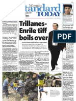 Manila Standard Today - Friday (September 21, 2012) Issue