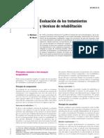2.- Evaluacion de Los Tratamientos y Tecnicas de Rehabilitac