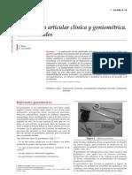 01.- Exploracion Articular Clinica y Goniometrica. Generalid