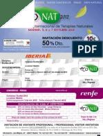 Invitacion EcoNat 2012 50 Dto