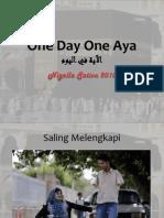 One Day One Aya 9
