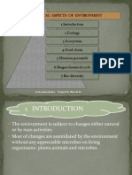 Ecological Aspects of Environment