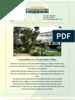 Pandhari Wedding Brochure Full Version