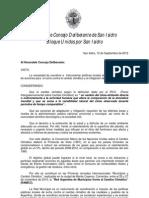 Proyecto 19/09/2012 - Incorporación San Isidro a RAMCC