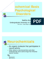 Neurochemical Basis of Psychological Disorders