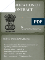 Classification of Contract-Vikash Kr Basant PPT-2