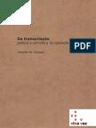 Haroldo de Campos - Da transcriação poética e semiótica da operação tradutora
