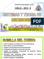Clase 1 Teoria Decisiones 2012 -II Final