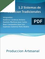 Sistemas de produccion tradicionales