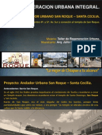 Regeneracion urbana integral en el barrio de San Roque en Tuxtla Gtz, Chiapas, Mexico.
