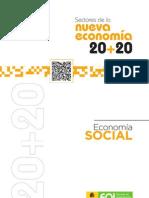 Sectores nueva economía 20+20 Economía Social