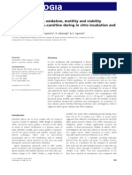 Human Sperm DNA Oxidation, Motility and Viability Andrologia 2012