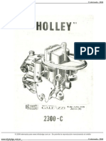 Manual Holley2300c