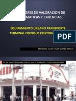 INDICADORES DE VALORACION DE PROBLEMATICAS Y CARENCIAS.