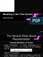 Modeling Time Domain