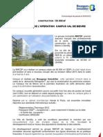 LANCEMENT DE L'OPERATION CAMPUS VAL DE BIEVRE