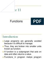 Ch11 Functions