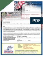 In Person Registration MAVERICK 2012