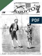 Periódico El Mosquito. Año 1884.