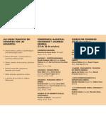 Tríptico - VIII Congreso Internacional de la Red Latinoamericana de Antropología Jurídica / RELAJU – Bolivia