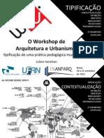 Apresentatção W-AU ENANPARQ Julien Ineichen