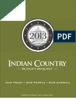 NCAI - Fy2013 Budget