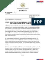 Abercrombie Press Release